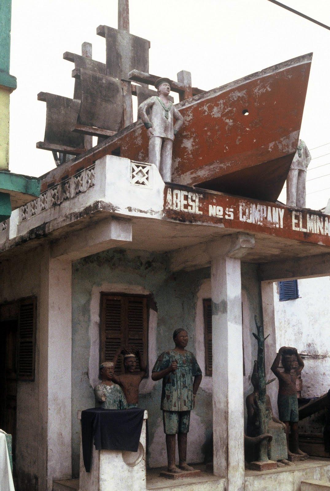 Ghana : Elmina Posuban Asafo
