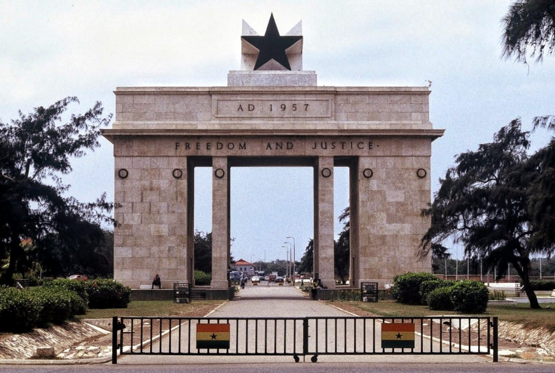 Accra : Independence Monument