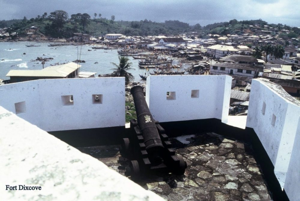 Ghana : Fort Dixcove (Metal Cross)
