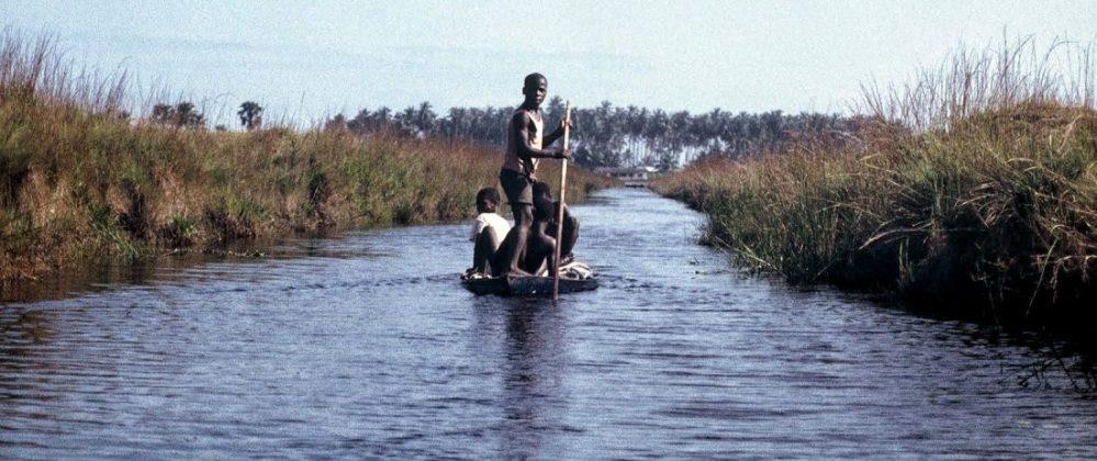 Ghana : Way to Nzulezo