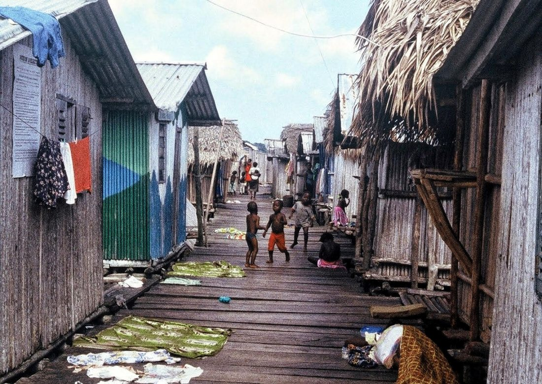 Ghana : Nzulezo