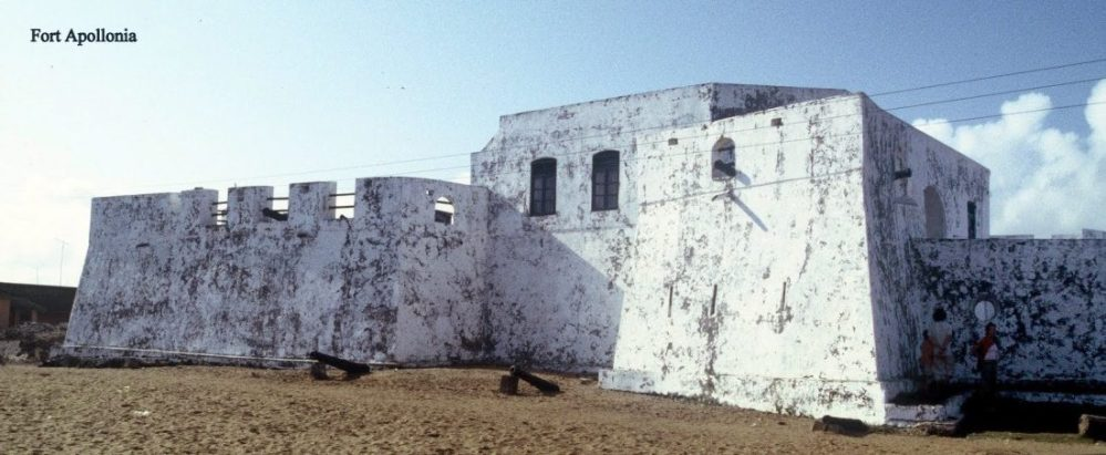 Ghana : Fort Apollonia