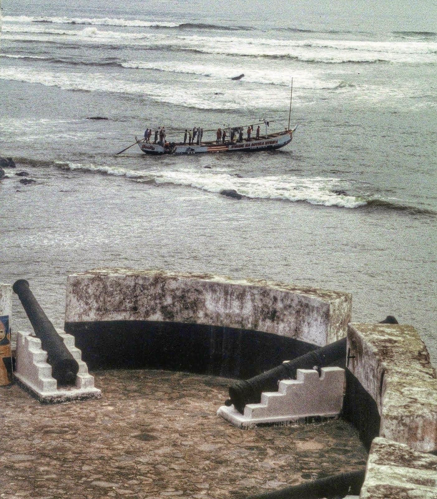 Ghana : Axim: Fort Santo António