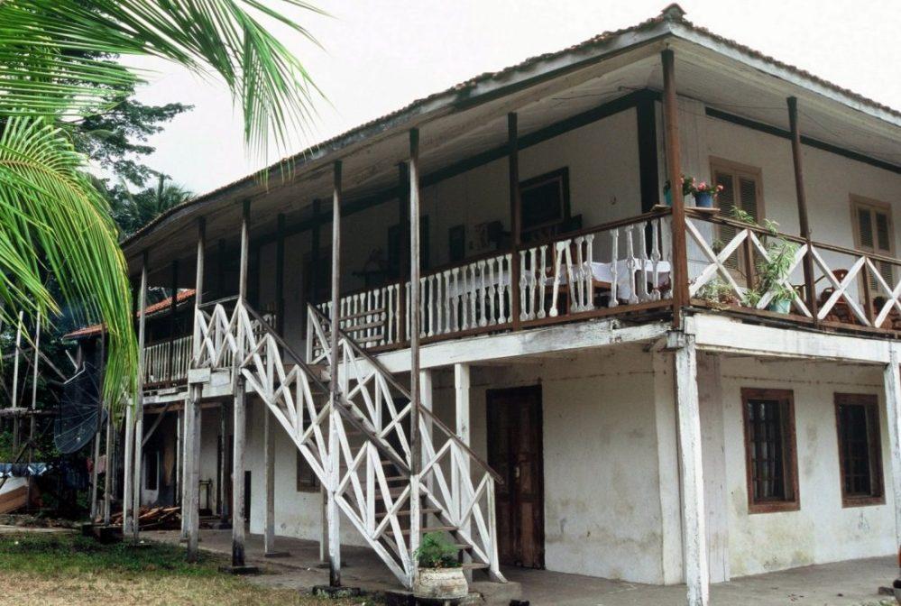 Sao Tome e Principe : Roça Monte Forte
