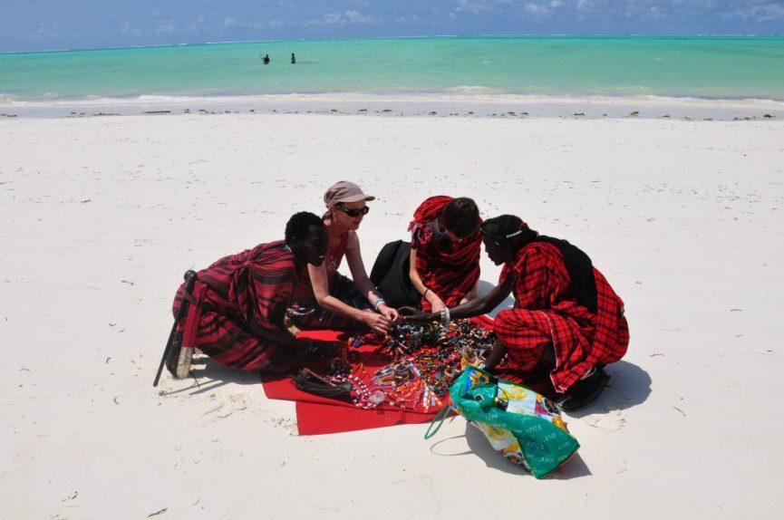 Zanzibar : Paje beach
