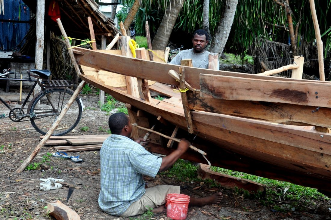 Unguja North (Nungwi building dhow)