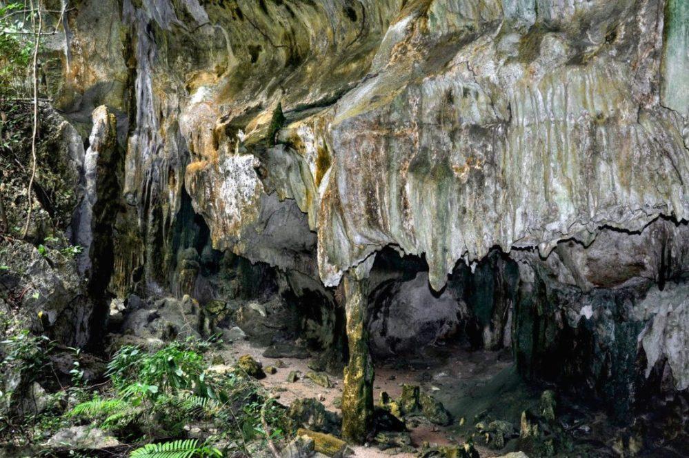 Kiwengwa caves entrance