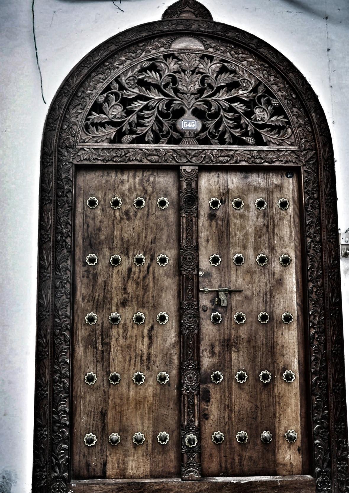 Zanzibar : Stonetown Door