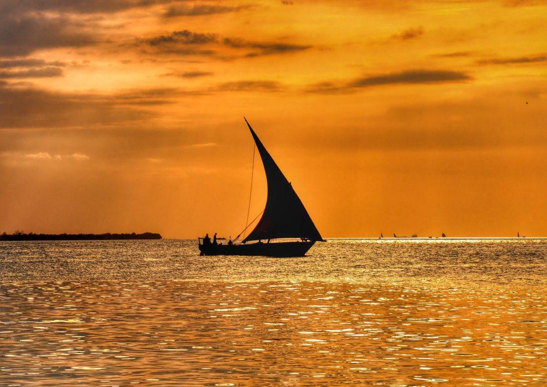 Zanzibar : Sunset Dhow trip