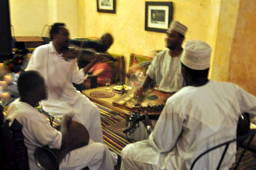 Zanzibar : Monsoon Restaurant Tarab Music