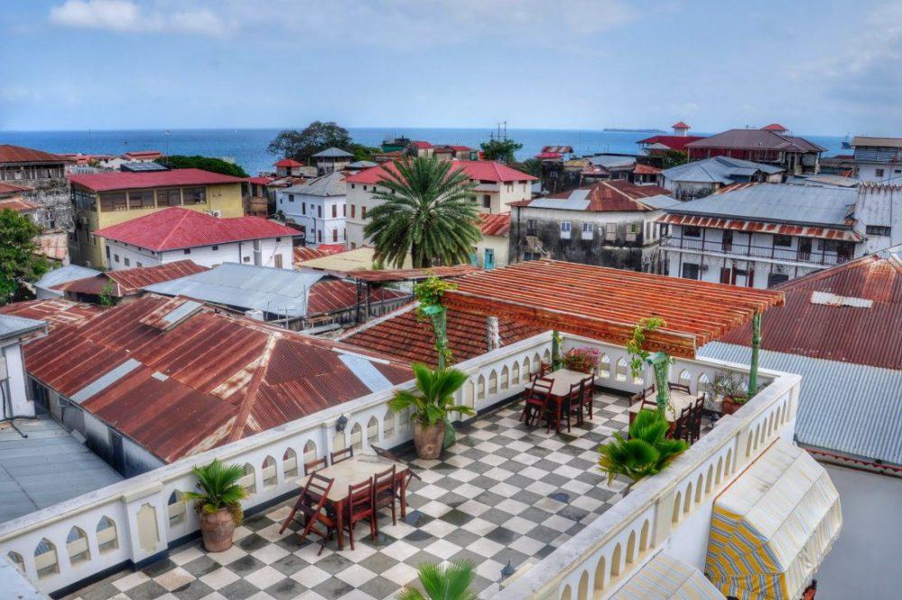 Zanzibar : Dhow Palace