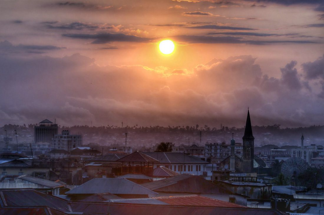 Sunrise in Stonetown