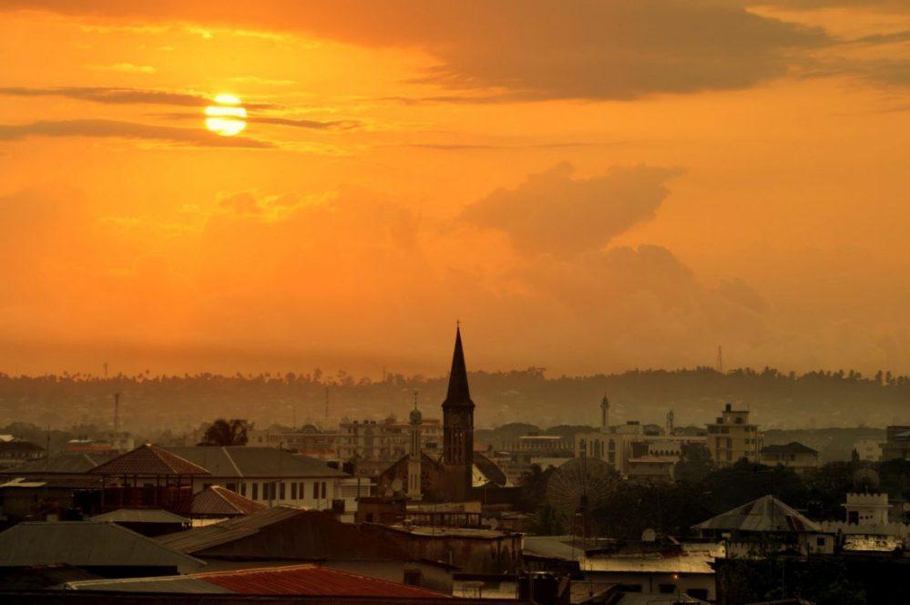 Zanzibar : Sunrise in Stonetown