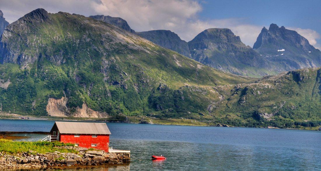 Flakstadøya : Torsfjord