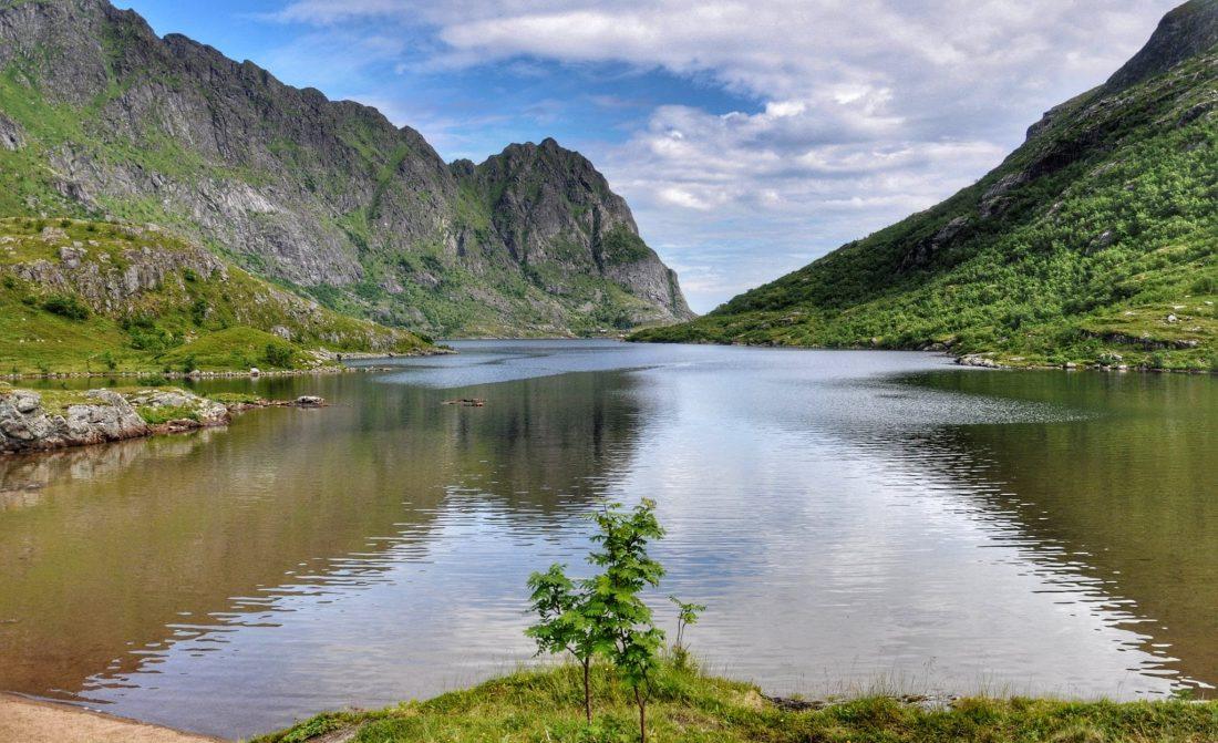 Lofoten : Å Ågvanet lake