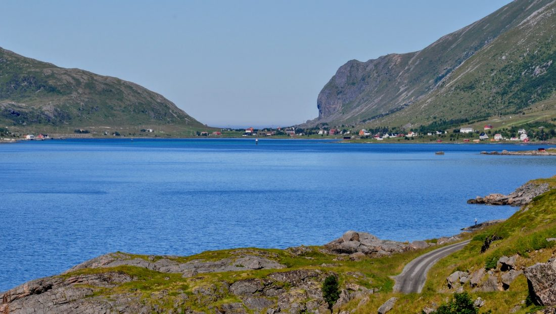 Lofoten Skjelfjord : Kvalvik