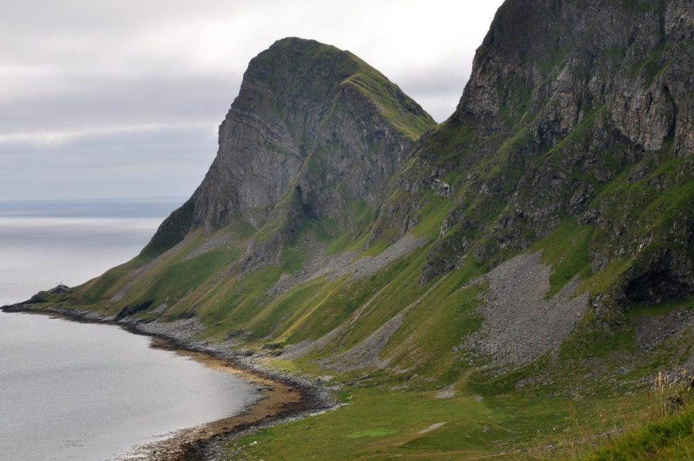 Lofoten Værøy : Haheia trail Sørlandshagen
