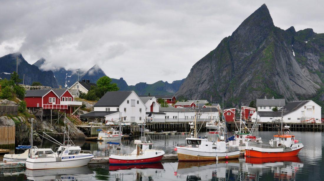Lofoten : Hamnøy