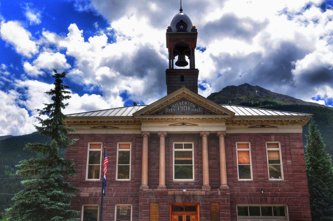 Colorado : Silverton City Hall