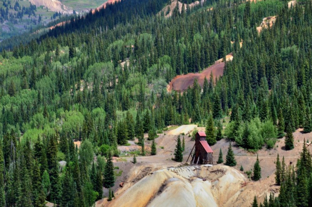 Colorado : San Juan Skyway Red Mountain