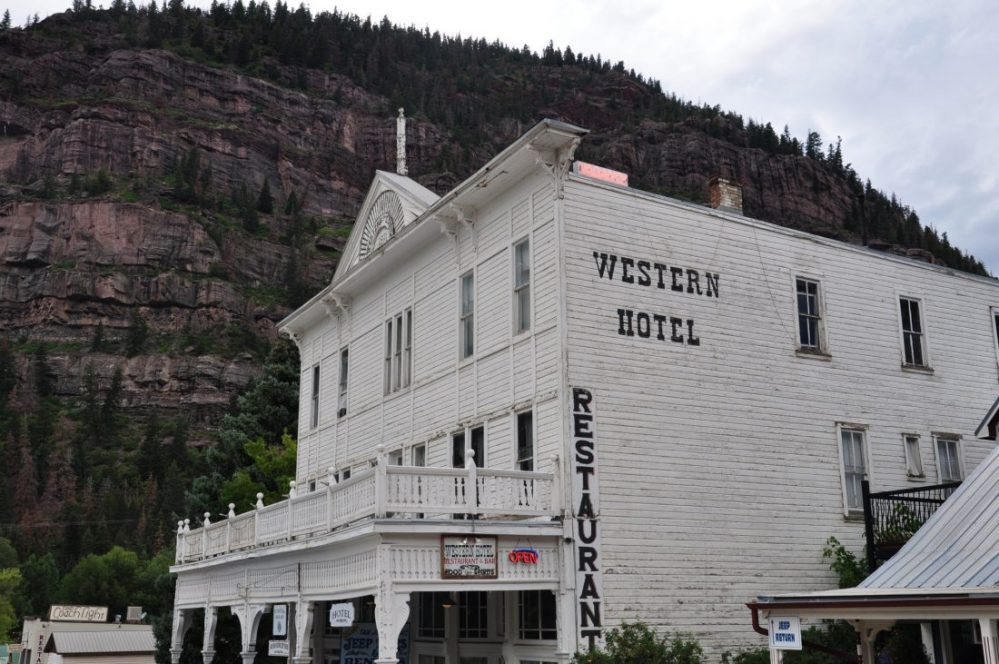 Colorado : Ouray Western Hotel