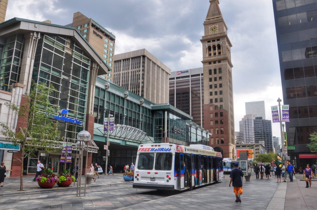 Denver Downtown 16th Street Mall