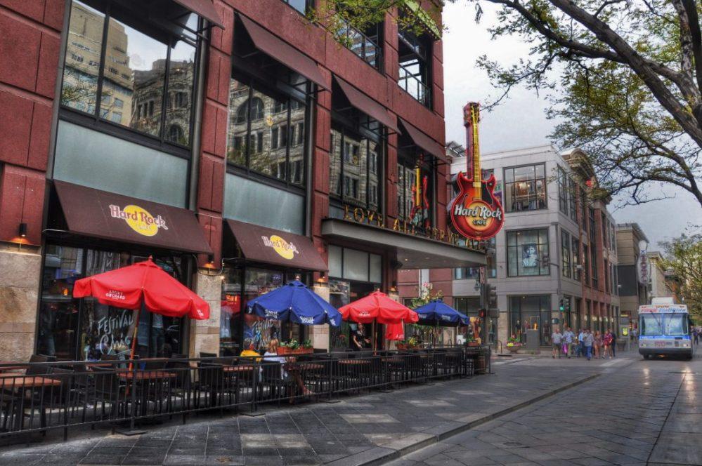 Denver downtown Hard Rock Cafe