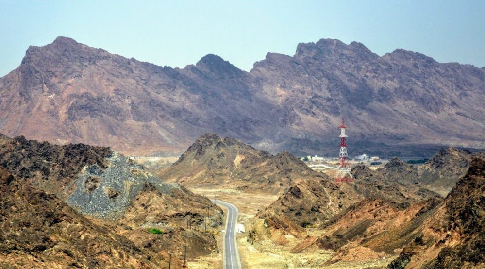 Oman : Road to Fanja