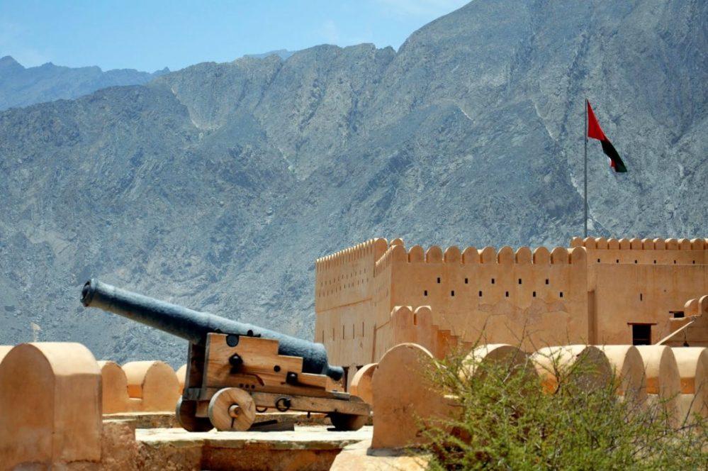 Oman : Nakhl fort