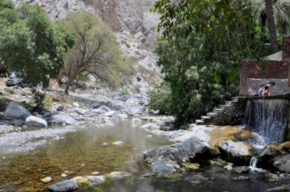 Oman : Nakhl Hot spring