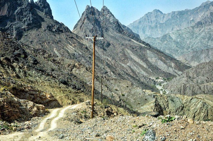 Oman : road to Bilad Sait