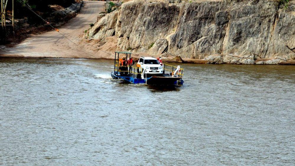 Richtersveld Transfrontier Park : Namibia border Octha Ferry Crossing