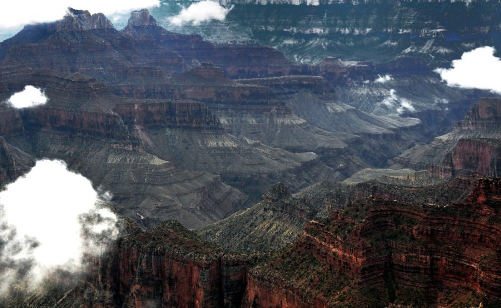 Grand Canyon : North Rim (Bright Angel Point)