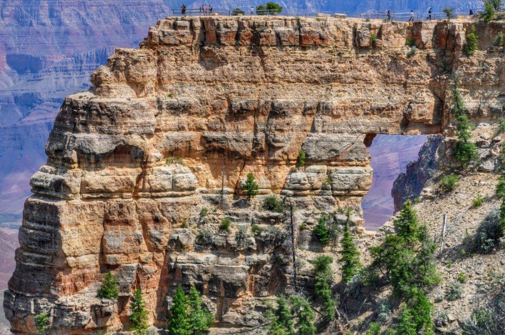 Grand Canyon : North Rim (Angel's Window)