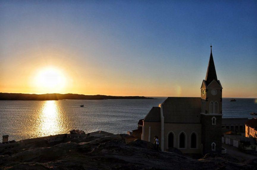 Namibia : Luderitz Felsenkirche