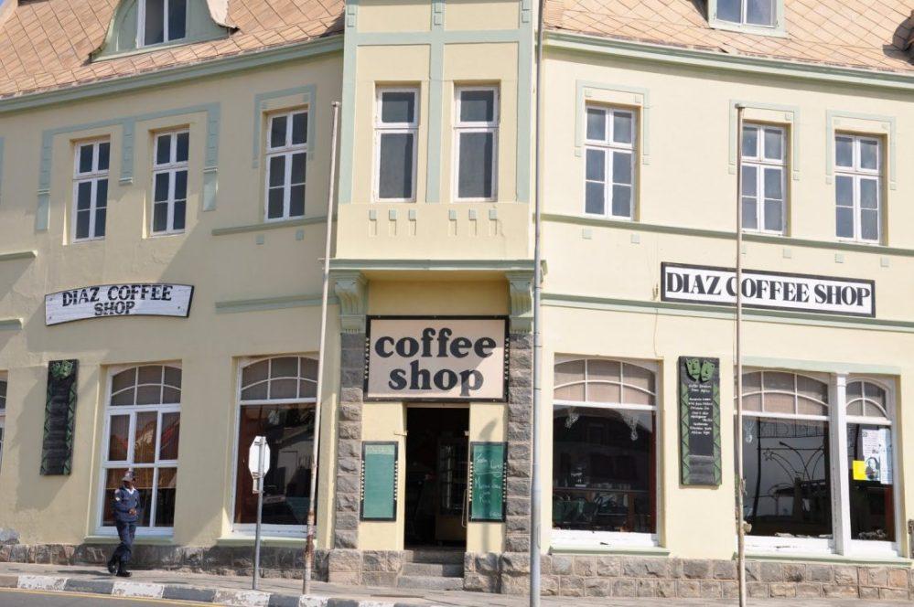 Luderitz : Diaz Coffee Shop