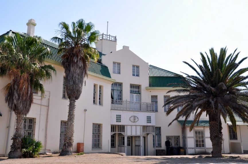 Luderitz Colonial Rail Station