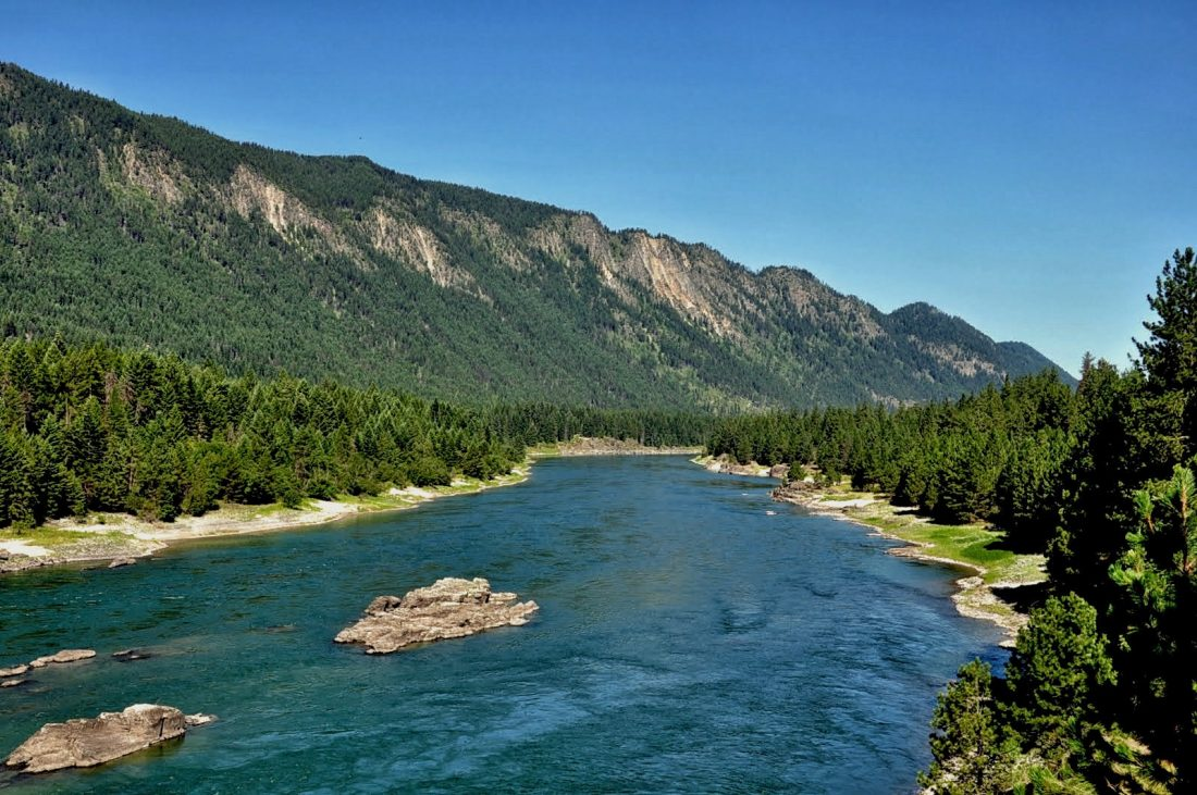 Montana : Highway 200 Tompson Falls