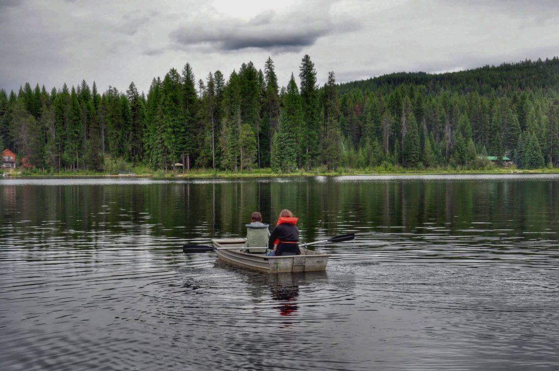 Washington state Gillette Lake