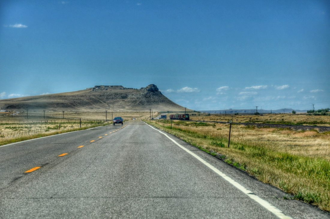 Montana : Byway 191 from Big Timber