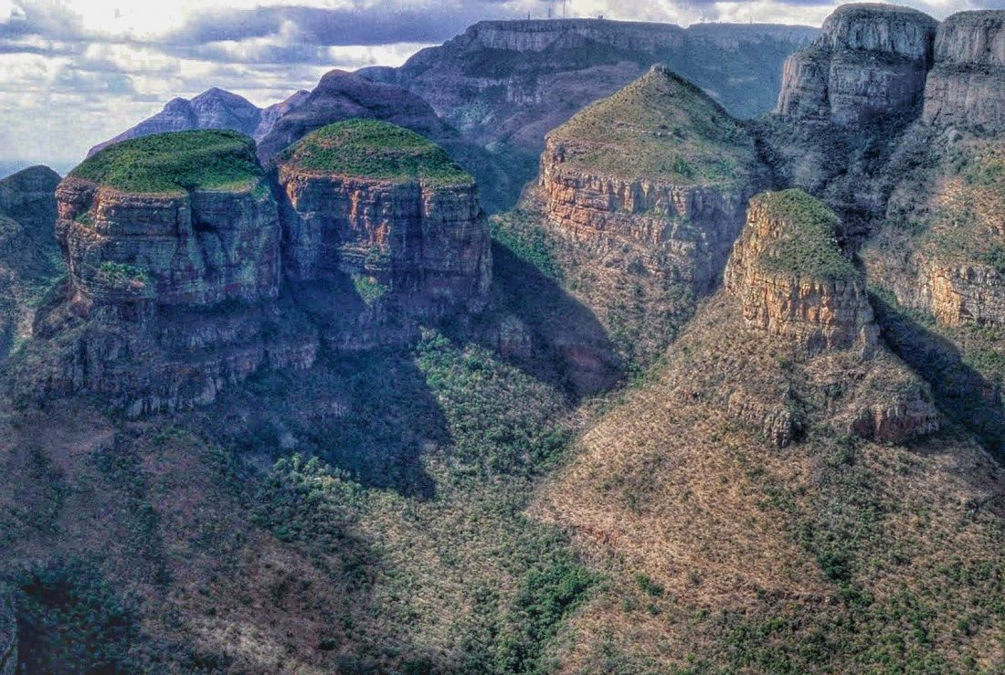 Blyde River Canyon : Three Rondavels View Point