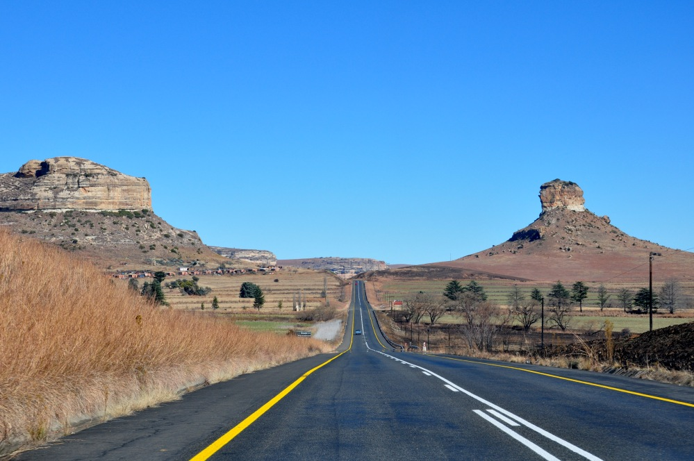 South Africa : from Clarens to Lesotho