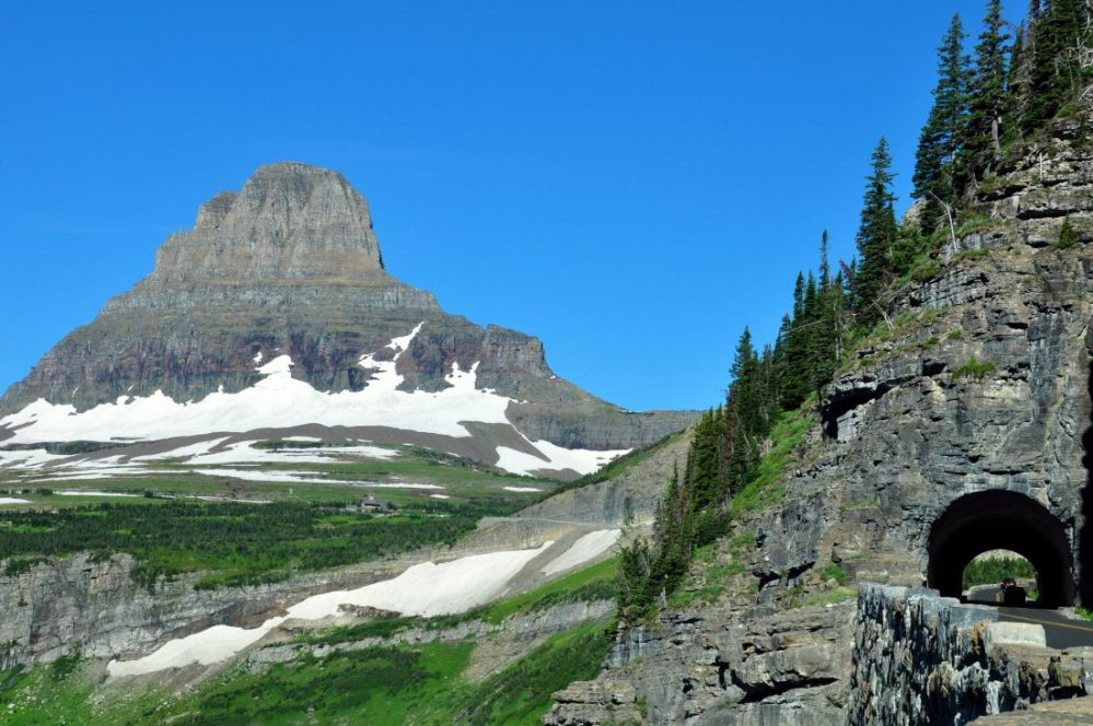 Glacier National Park : Going-To-The-Sun Road