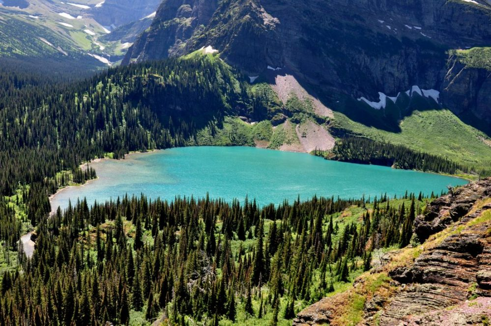 Grinnell Lake Trail