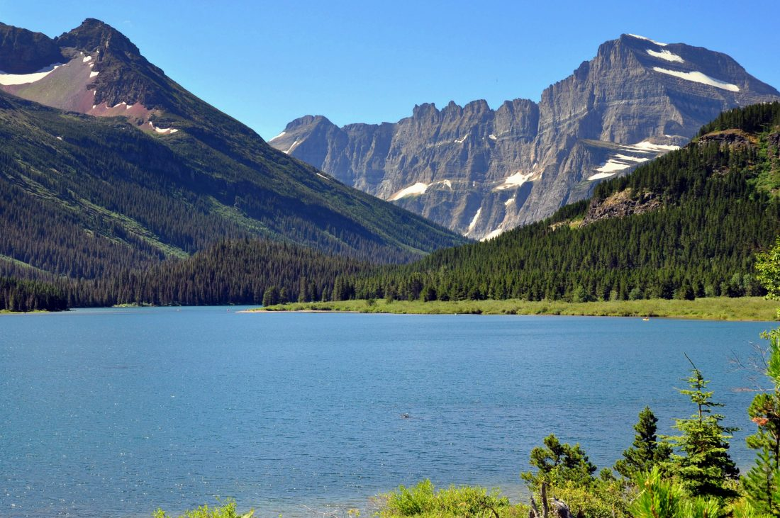Grinnell Lake Trail : Josephine Lake