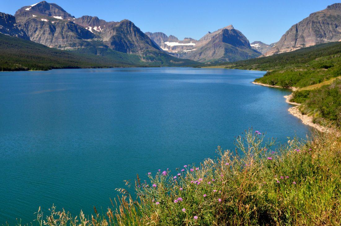 Glacier National Park : Swiftcurrent Lake
