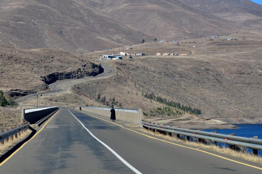 Lesotho : Katse Dam