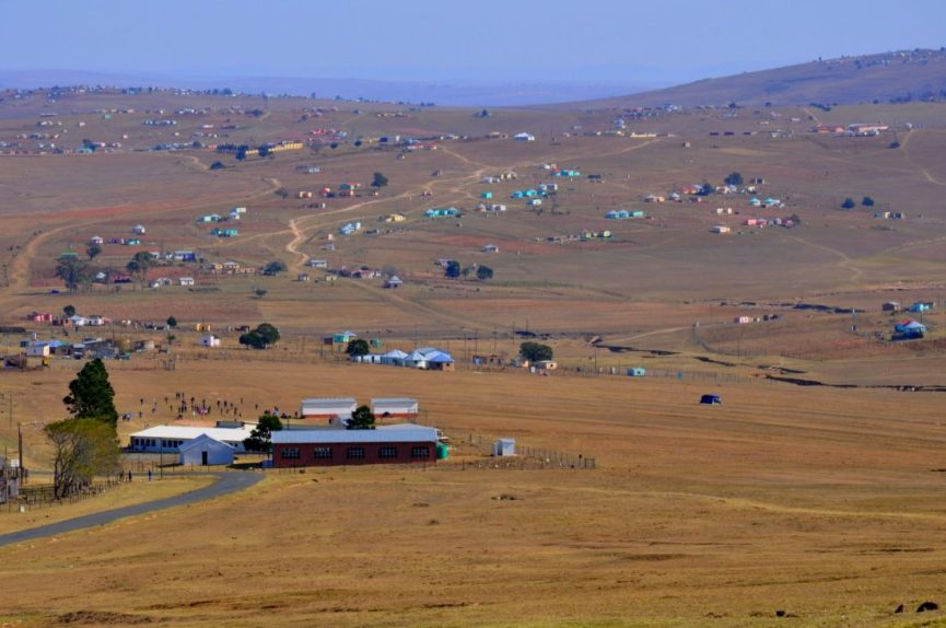 Mandela grew up in Qunu