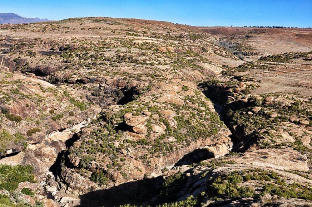 Lesotho : Malealea Village (black pool trail)