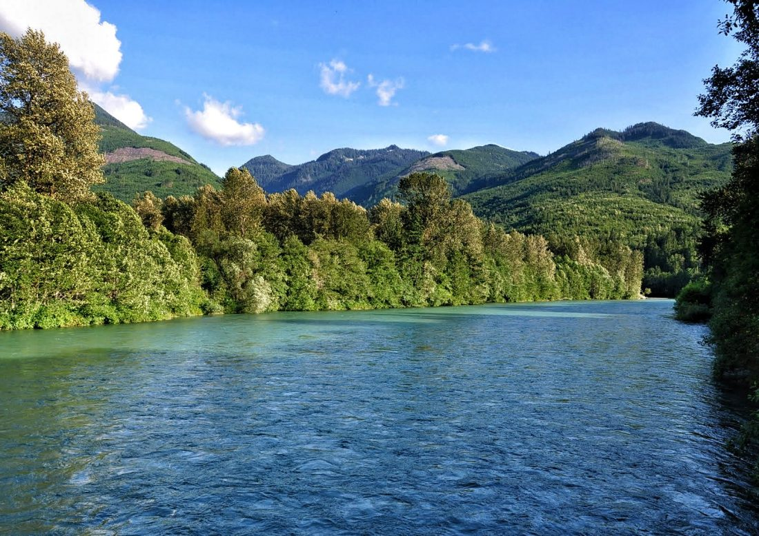 Marblemount : Skagit River